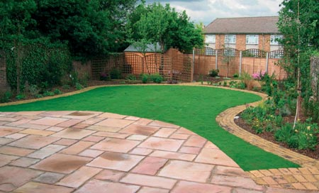 Budding ideas large landscaped garden design for How to landscape a garden