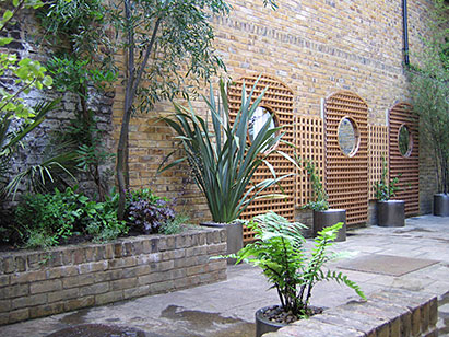 Garden Design With Budding Ideas Walled Patio Garden Design With Landscape  Edging Ideas From Buddingideas.
